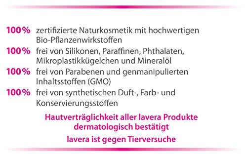lavera Duschgel Blütenliebe Bio-Malve & Bio-Weißer Tee ∙ Blumig-frisches Duscherlebnis ∙ vegan ✔ Bio Pflanzenwirkstoffe ✔ Naturkosmetik ✔ Natural & innovative ✔ Körperreinigung  2er Pack (2x200 ml) - 4