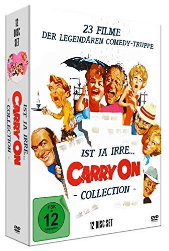 Ist ja irre - Carry On Deluxe Collection (12 DVD-Digipak mit 23 Filmen, limitiert)