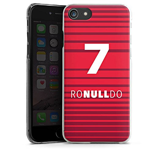 Apple iPhone 7 Silikon Hülle Case Schutzhülle Fußball Christiano Ronaldo Humor Hard Case transparent