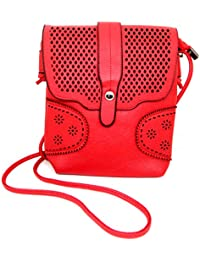 HALO NATION Stylish And Trendy Work Sling Bags (Handbag) For Women's Girl's Red