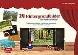 24 Hintergrundbilder für das Kamishibai: Figurentheater spielen – Geschichten...