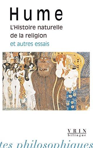 Histoire naturelle de la religion et autres essais