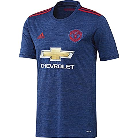 adidas Manchester United Fc Replica Extérieur Maillot Homme, Collegiate Royal/Real Red, FR : M (Taille Fabricant : M)