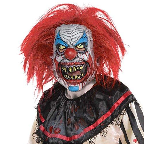 Halloween Killer-Clown Maske