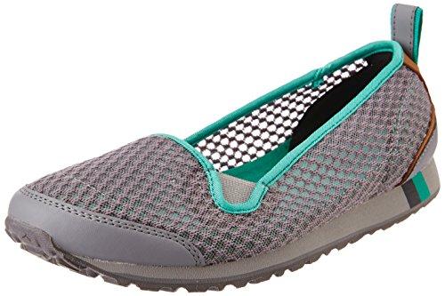 Clarks Womens Sport Clarks Incast à chaussures en cuir synthétique rose Gris - gris
