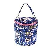D DOLITY Kleintier Tragetasche Plüsch Transporttasche mit Schultergurt für Hamster Frettchen Meerschweinchen Ratte Maus - M 17x17cm