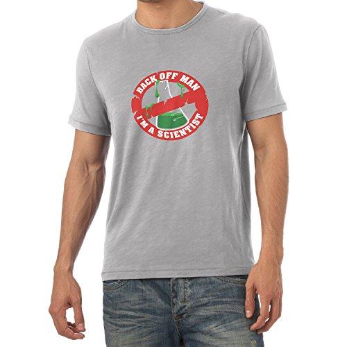 NERDO - Back off Man, I'm a Scientist - Herren T-Shirt