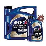 Elf evolution full-tech FE 5W-30Synthetisches Motor Öl-1x 5L + 1x 1L = 6Liter