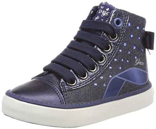 (Geox Mädchen JR Ciak Girl B Hohe Sneaker, Blau (Navy), 38 EU)