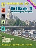 TourenAtlas Nr.7 Elbe-1: vom Elbsandsteingebirge bis Magdeburg im Maßstab 1: 25.000 und 1: 75.000