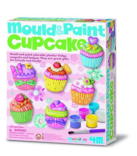 4M Gußform und Farben für Cupcakes