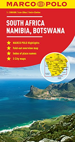PDF] Download South Africa, Namibia, Botswana Marco Polo Map