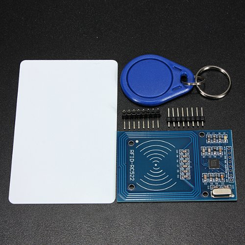 SODIAL (R) MFRC-522 RC522 RFID Modulo IC Card induzione Sensore con S50 libera catena chiave della carta