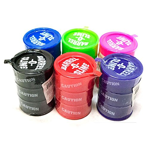 Asian Hobby Crafts Barrel O Slime Toy - Set of 6