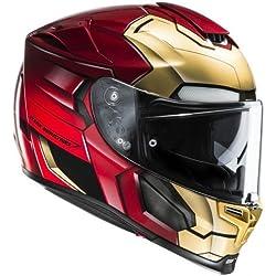 HJC 14360109 Casco de Moto, Ironman Homecoming, Talla L