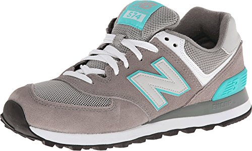 New Balance WL574 B - Zapatillas para mujer, color gris (grau (sng grey/blue)), talla 37.5