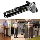 #8: J GO Portable Old Man Stick Ultra-light Handle Dependable Walking Magic Foldable Trusty Cane with Built-in Light