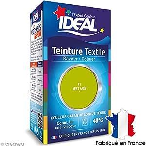 Idéal - Teinture Tissu Idéal liquide - 41 vert anis
