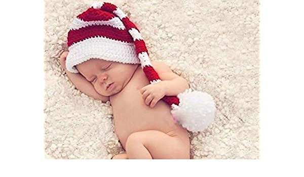 Honeysuck Baby Infant Christmas Photopraphy Prop passgenau Hat Knit ...