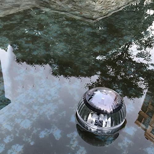 Chanhan Solar Schwimmendes Teich-Licht, Farbwechselnde Wasser-Schwimmkugel Lampe, Solar Garten Pool-Licht Hängeleuchte für Hof, Teich, Garten, Pool, Springbrunnen