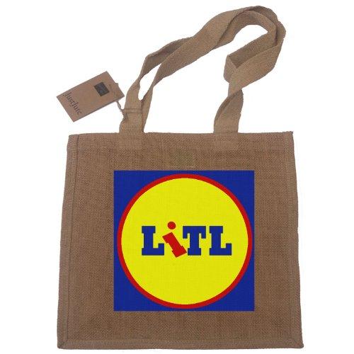 litl-little-lidl-funny-cumpleanos-new-baby-boy-girl-bautizos-compra-de-yute-bolsa-de-regalo