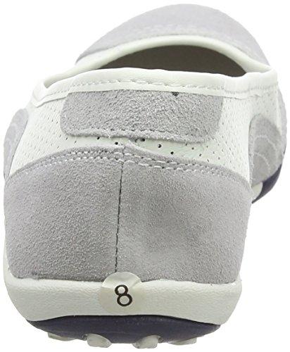 Spot on Damen F8991 Ballerinas Weiß