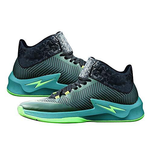 Antichoc Hommes Basketball Chaussures Anti-dérapant Mâle Cheville Bottes en Plein Air Sneakers Résistant À l'usure Casual Chaussures Athlétique Sport Chaussures