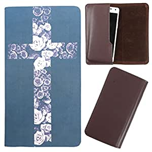 DooDa - For Samsung Galaxy S Duos S7562 PU Leather Designer Fashionable Fancy Case Cover Pouch With Smooth Inner Velvet