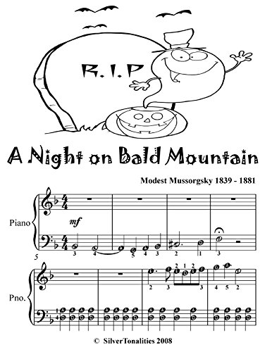 A Night On Bald Mountain Easy Piano Sheet Music Tadpole Edition (English Edition)