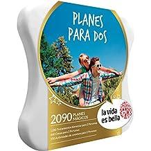 LA VIDA ES BELLA - Caja Regalo - PLANES PARA DOS - 2090 planes mágicos