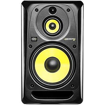 KRK RP10-3 G3 Studio Monitor (aktiver Nahfeld-Monitor, 110 Watt, präziser und kraftvoller Sound, professioneller Lautsprecher)