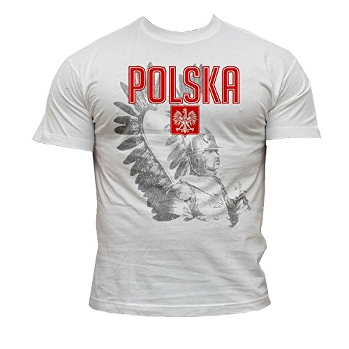 Quaint Point Polska Polen Trikot Herren T-Shirt KP9 (L)