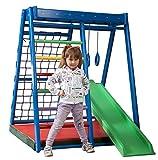 FunnyClouds Kinder Aktivitätsspielzeug Kletterturm mit Rutsche