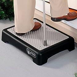 Hyfive Rutschfeste Halbstufe Für Größere Mobilität, Bei Behinderungen Oder Für Altere Menschen, Treppenhilfe Für Den Innen- Und Außenbereich