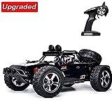 VATOS Fernbedienung Auto RC Auto 1:12 Skala High Speed 40 km / std Monster Truck RC Buggy Crawler (Black)