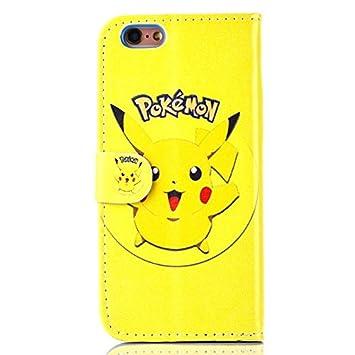 36227bc325 iPhone 6/6s Pokemon PU Leather Flip Wallet Case: Amazon.co.uk: Electronics