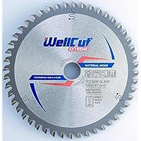 WELLCUT lama per sega circolare (abilità) dischi di taglio di 160 x 20 mm 48T denti per legno sega circolare, Alta qualità, adatto per Bosch, Festool, DeWalt, Metabo etc.