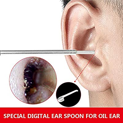 Digital Ear Scoop,HD Camera Ear Wax Remover Tool with 6 Adjustable LED Light,for Windows PC and Android System with OTG Function