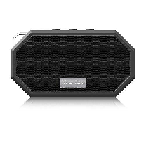 Tragbarer Bluetooth Lautsprecher VersionTech Drahtloser Lautsprecher mit Subwoofer Wasserdicht Klein Handlich, für iPhone 7/6 s/6/6 s Plus/5 s Samsung Galaxy S7 iPad Mini 2/2/Air