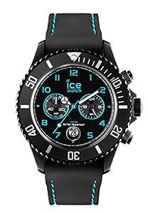 ICE-Watch - CH.BTE.B.S.14 - Ice Chrono Drift - Montre Mixte - Quartz Analogique - Cadran Noir - Bracelet Silicone Noir