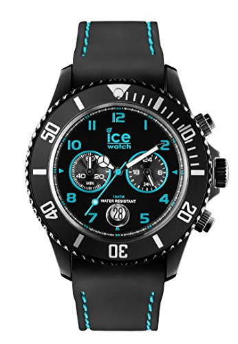 ice watch herren armbanduhr xl chrono drift turquoise chronograph quarz silikon ch bte b. Black Bedroom Furniture Sets. Home Design Ideas