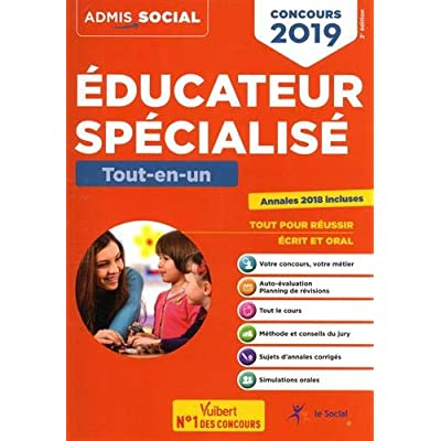 Concours Educateur spécialisé 2019 - Tout-en-un