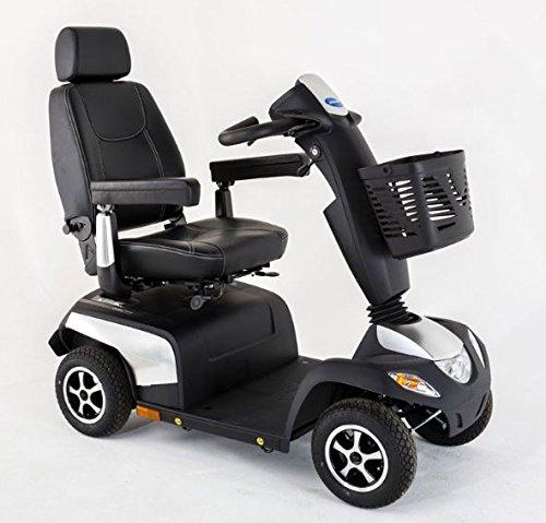 Invacare Orion Metro, 4-Rad-E-Mobil, Elektroscooter 10 km/h, Silber, Seniorenmobil inkl. Anlieferung/Einweisung/Aufbau vor Ort