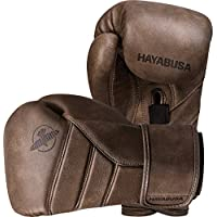HAYABUSA T3 Kanpeki - Guantes de Boxeo (Piel), 14 oz, Marrón