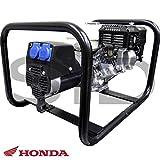 Motores Campeón GP4000M Generador Eléctrico Campeón de 3800 W con Motor Honda, 3000 RPM, 220 V, 37 kg