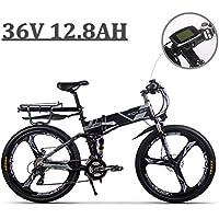eBike_RICHBIT 860 Hommes Vélo Électrique Pliant,Pleine Suspension,250 W 36 V 12.8AH,Vélo de Montagne