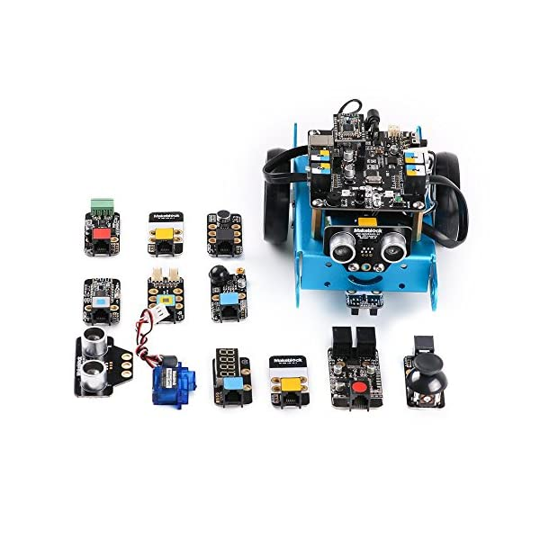51pkwh59xcL. SS600  - Makeblock 90050 - Robot Educativo mBot, STEM Arduino programable con Scratch