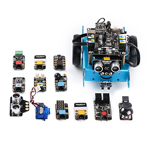51pkwh59xcL - Makeblock 90050 - Robot Educativo mBot, STEM Arduino programable con Scratch