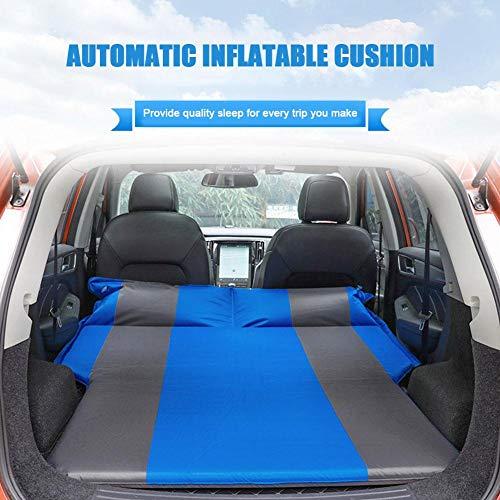 Auto-automatische Luftmatratze - Trunk Travel verdickte Luftbett-SUV-Luftmatratze, tragbare Camping-Outdoor-Matratze mit Aufbewahrungstasche, für Outdoor-Camping-Wandern
