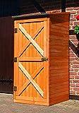 Holz-Geräteschrank Pforzheim klein Gerätehaus Schuppen Schrank
